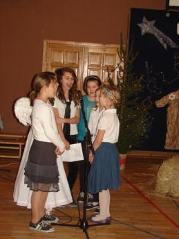 Galeria Jasełka w Szkole Podstawowej w Rozprzy