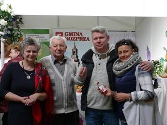 Galeria Gospodynie z Gminy Rozprza promowały swoje produkty w czasie Międzynarodowych Targów Turystyki Kulinarnej.