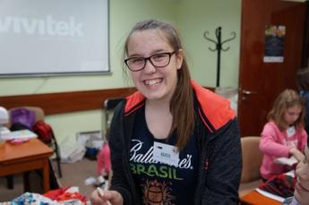 Galeria Dzieci z gminy Rozprza wzięły udział w warsztatach realizowanych przez ŁDK