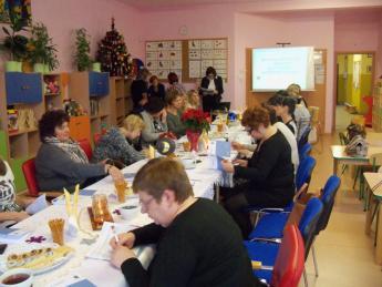 Galeria W Przedszkolu w Rozprzy odbyło się szkolenie Rady Pedagogicznej na temat Ewaluacja zewnętrzna.