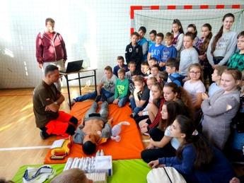 Galeria Europejski Dzień Przywracania Czynności Serca SP Straszów