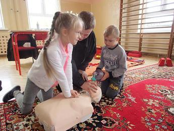 Galeria Pierwsza pomoc przedmedyczna w Szkole Podstawowej w Nowej Wsi