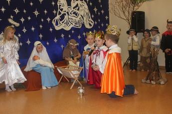 Galeria Jasełka Bożonarodzeniowe w Przedszkolu w Rozprzy