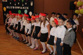 Galeria Ślubowanie pierwszaków w Szkole Podstawowej w Rozprzy