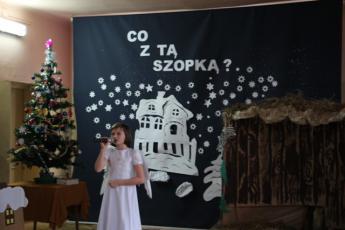 """Galeria """"Jasełka"""" w Szkole Podstawowej w Nowej Wsi"""