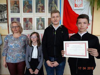 Galeria Gminny Patriotyczny Konkurs Ortograficzny