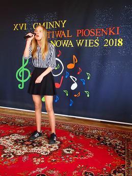 Galeria Gminny Festiwal Piosenki Nowa Wieś 2018