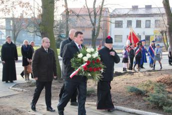 Galeria Mieszkańcy gminy Rozprza uczcili 95 rocznicę odzyskania niepodległości.