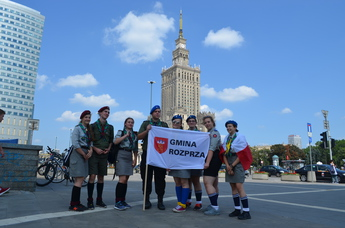 Galeria harcerze w Warszawie
