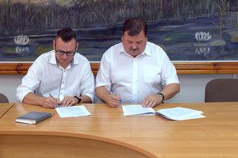 Galeria Podpisanie umowy przedszkole