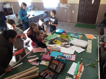 Galeria W Cekanowie dzieci się nie nudzą