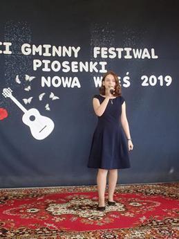 Galeria XVII Gminny Festiwal Piosenki w Szkole Podstawowej w Nowej Wsi
