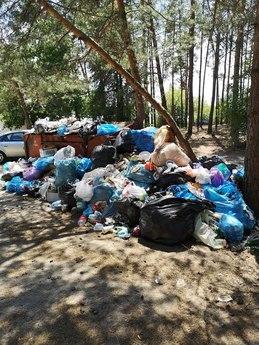 Galeria zalew śmieci