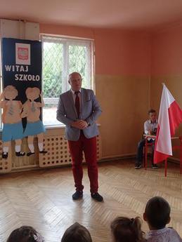 Galeria rozpoczęcie roku SP Nowa Wieś