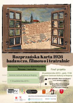 Rozprzańska Karta 1926 badawczo, filmowo i teatralnie.png