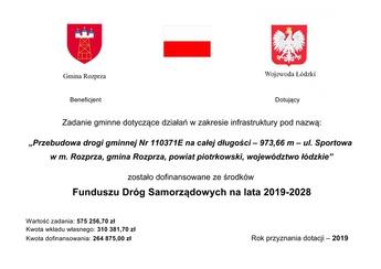 Przebudowa Sportowa Rozprza tabliczka.jpeg