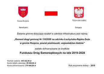 Remont Drogi Łochyńsko - Rajsko Duże tabliczka.jpeg