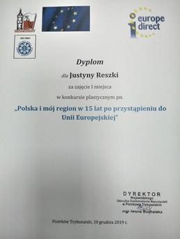 """Galeria Podsumowanie konkursu plastycznego """"Polska i mój region"""