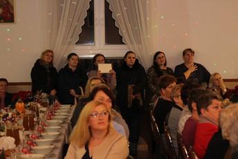 Galeria Spotkanie opłatkowe Łazy Duże