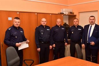Galeria Pożegnanie Komendanta Policji w Gorzkowicach