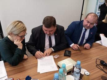 Galeria Podpisanie umowy Kanalizacja