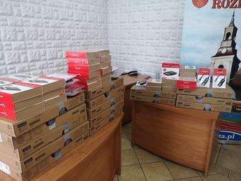 Galeria Kolejne laptopy rozdane