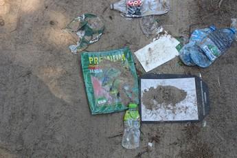 Galeria Śmieci przy zbiorniku wodnym w Cieszanowicach