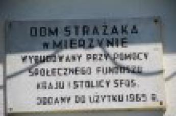 """Galeria Gminne Obchody """"Dnia Strażaka"""" w Mierzynie 4 maja 2014"""