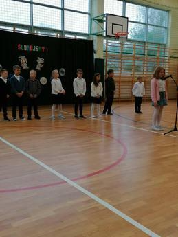 Galeria Ślubowanie pierwszych klas w SP w Milejowie