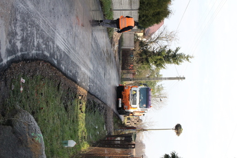 Galeria II etap przebudowy drogi Gieski