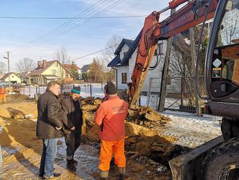 Galeria Budowa dróg osiedlowych w Niechcicach