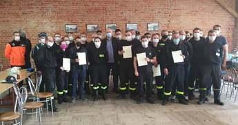 Szkolenie przedmedyczne strażaków-ratowników w Gminie Rozprza