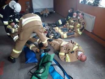 Galeria Szkolenie przedmedyczne strażaków-ratowników w Gminie Rozprza
