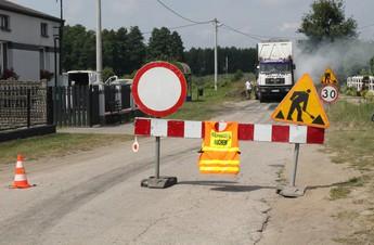Remont drogi powiatowej w Bogumiłowie
