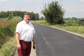 Galeria Remont drogi powiatowej w Bogumiłowie