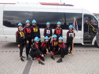 Drużyna Młodzieżowych Drużyn Pożarniczych z Rozprzy