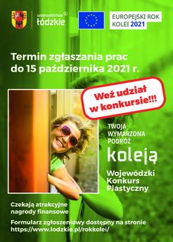 Europejski Rok Kolei - plakat