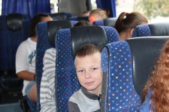 Galeria Wójt Gminy Rozprza towarzyszył dzieciom z Gminy Rozprza, podczas wyjazdu na kolonie