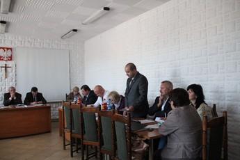 Galeria XXXIII sesja Rady Gminy Rozprza
