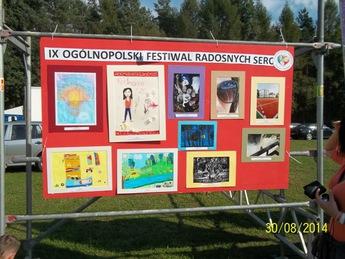 """Galeria """"Motylek"""" z Milejowa na IX Ogólnopolskim Festiwalu Radosnych Serc w Bydgoszczy"""