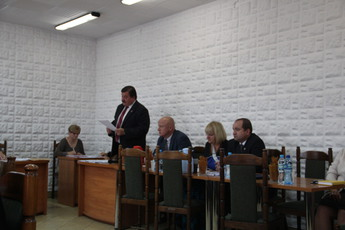 Galeria XXXIV sesja Rady Gminy